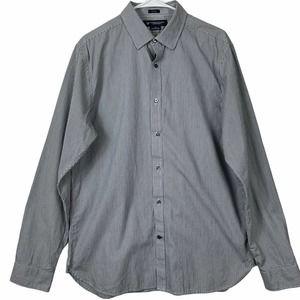 American Eagle Size L Slim Fit Button Front Shirt